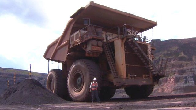 Inside the world's largest iron ore mine