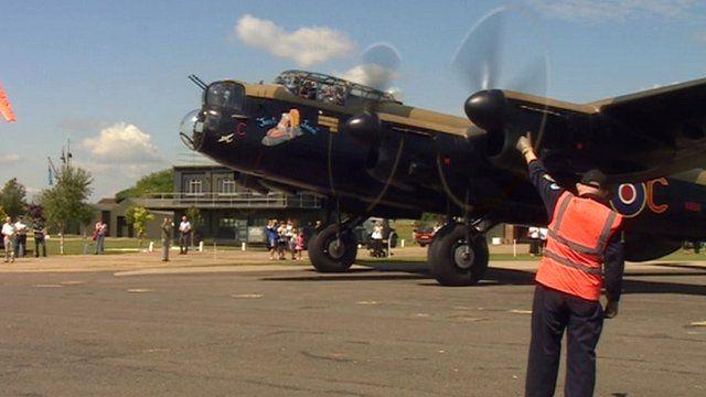 Aircraft at Newark Air Museum, in Nottinghamshire