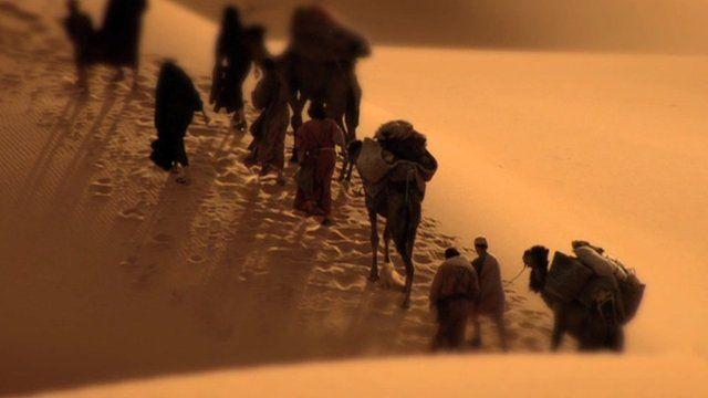 The journey of the Israelites