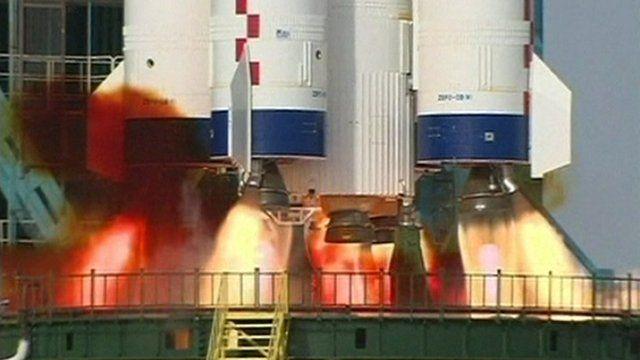 China's Shenzhou-9 spacecraft