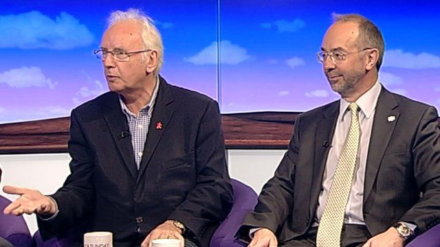 Pete Waterman and Martin Tett