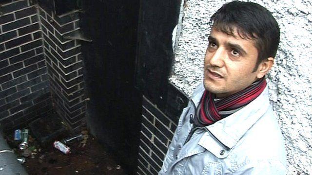 Kurdish asylum seeker Arian Ali