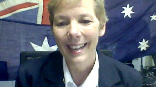 Director of the Girl Guides of Australia, Belinda Allen