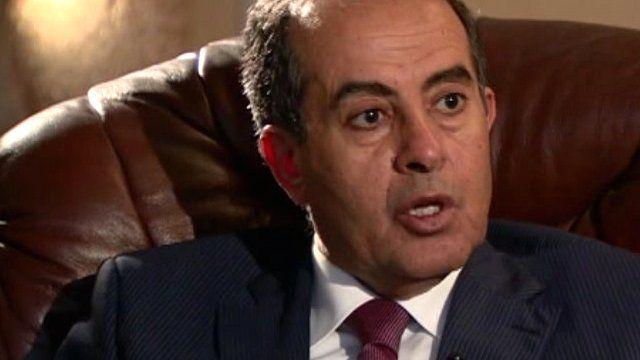 Libya's coalition leader, Mahmoud Jebril