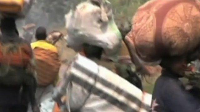 People flee in eastern Democratic Republic of Congo