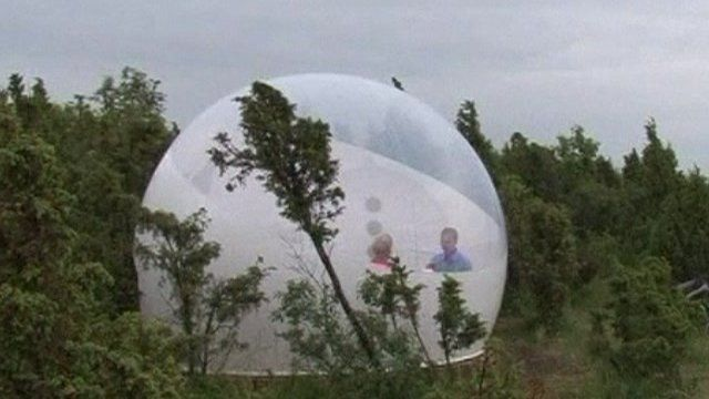 The bubble hotel in Estonia