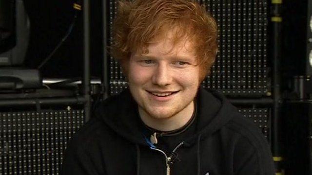 Ed Sheeran at Thetford Forest
