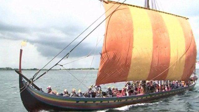 The 30-metre-long Havhinsten, or Sea Stallion