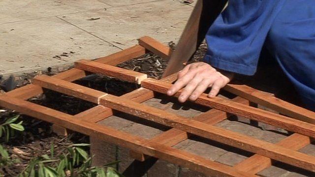 Building a garden in Norwich