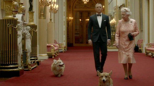 Queen and James Bond
