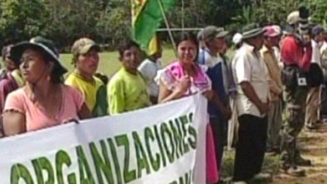 Local indigenous organizations gathered on Sunday to kick off the consultation process