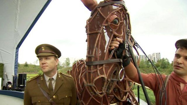 Cast from War Horse