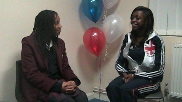 School Reporter interviews Henry
