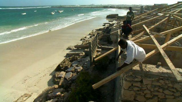 Building in Somalia