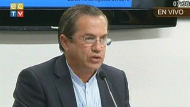 Foreign Minister Ricardo Patino