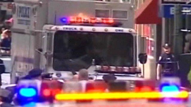Emergency vehicles in New York