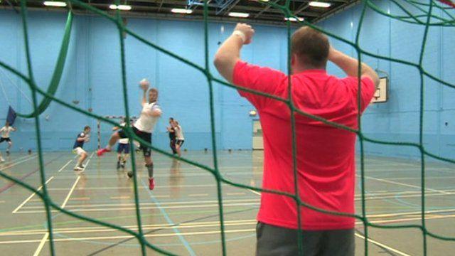 Handball match