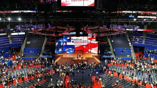 The opening of the Republican National Convention