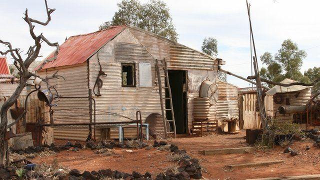 Abandoned mining village