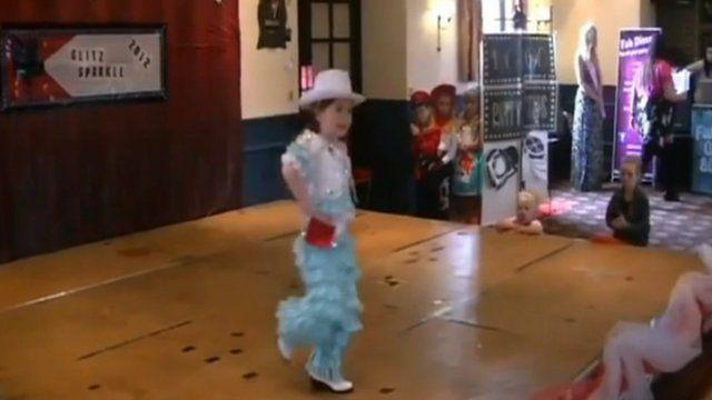 Miss Glitz Sparkle Competition