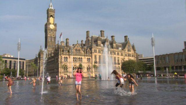 City Park in Bradford