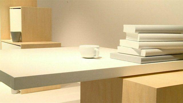 A minimalist design at Paris Design Week