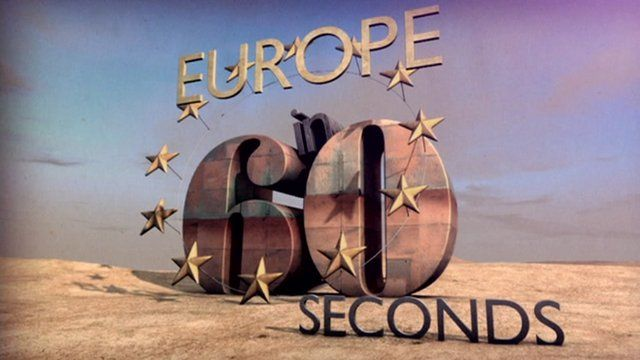 Europe in 60 seconds logo
