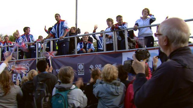 Scotland's Olympians and Paralympians parade through Glasgow