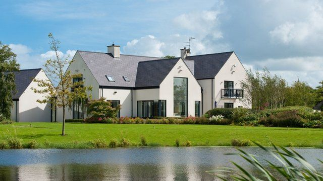 Rory McIlroy's home in Moneyreagh, Northern Ireland