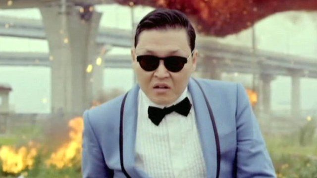 Korean rapper 'PSY'