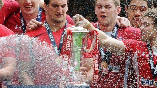 Wales' grand slam win, 2012