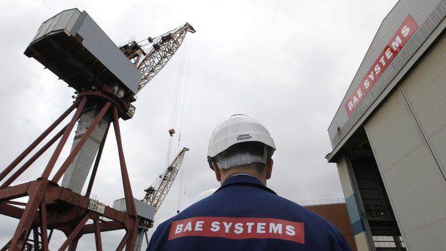 Shipyard worker at BAE Systems yard in Govan
