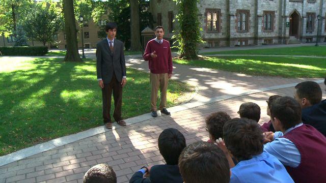 Mock debate at Fordham University
