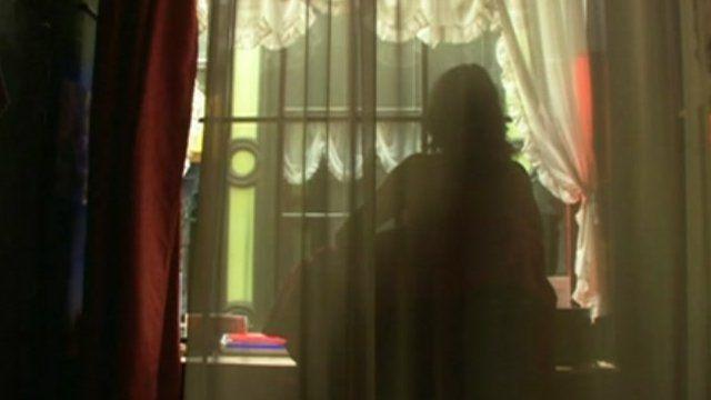 Prostitute in Ghent