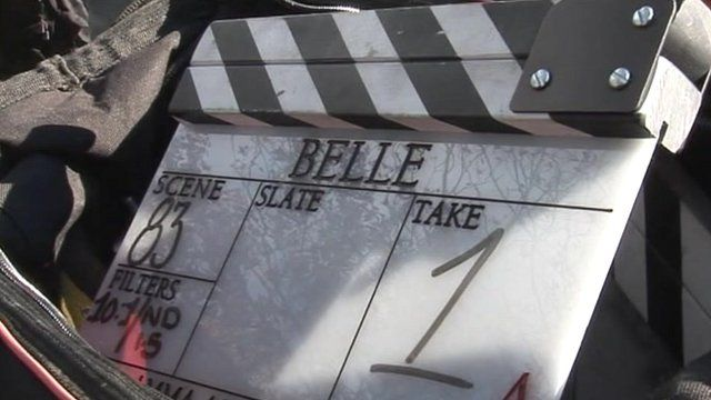 Belle filming under way