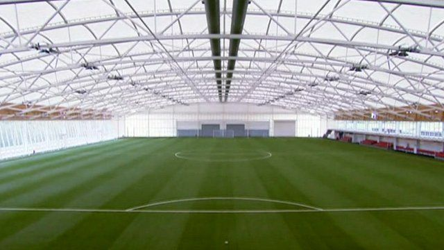 Replica Wembley pitch