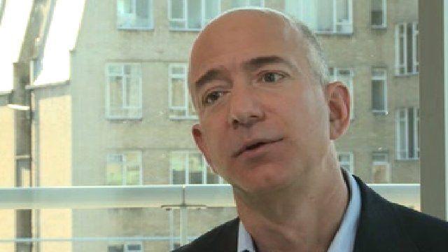 Amazon boss Jeff Bezos