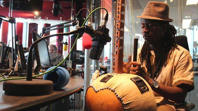 Jally Kebba Susso Photo: Manuel Toledo, BBC Africa