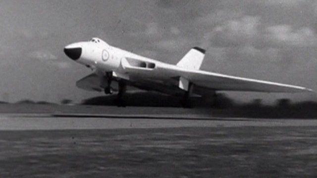 Plane from RAF Waddington