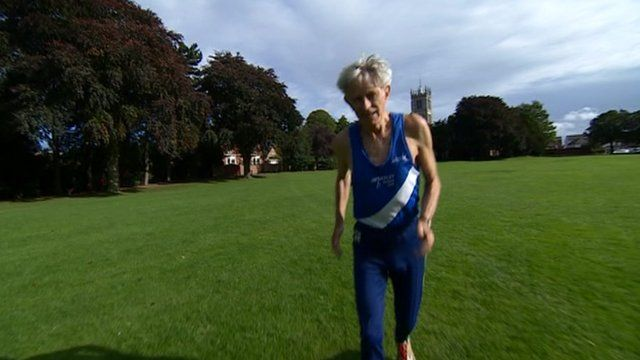 Leicestershire runner Geoff Oliver entered a 104-mile race last month