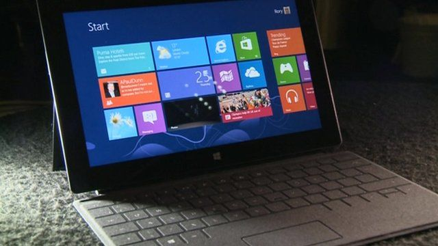 Tablet with Windows 8