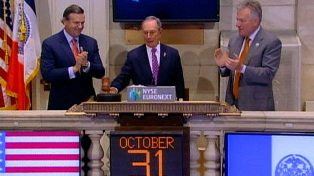 New York Stock Exchange opening