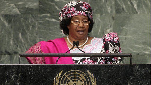 President Joyce Banda