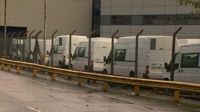 Transit vans in Southampton