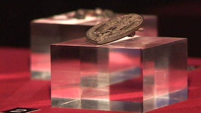 Bishop's Seal goes on display