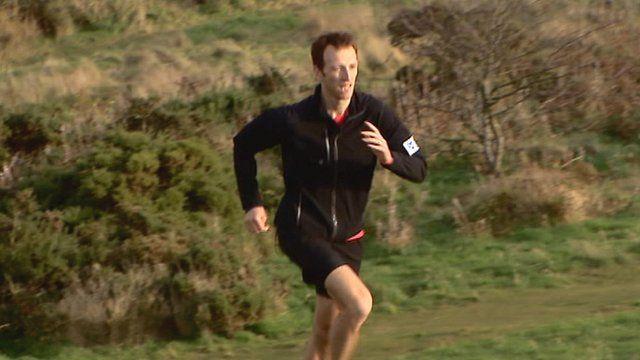 Andrew Murray running