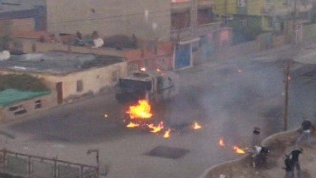 Kurds clash with Turkish police