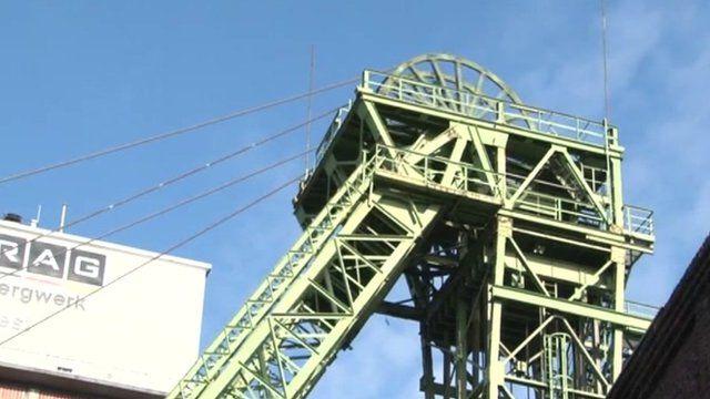 German coal mine