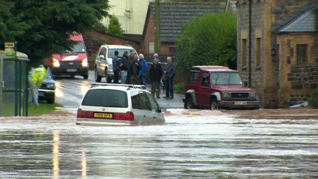 Flooding in Wellington