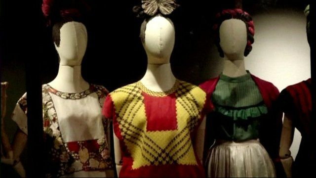 Frida Kahlo's clothes